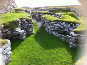 standing stones walkway