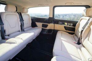 Van interior conference style