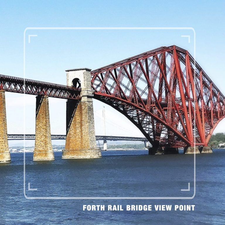 Forth Rail Bridge View Point - St Andrews Tour