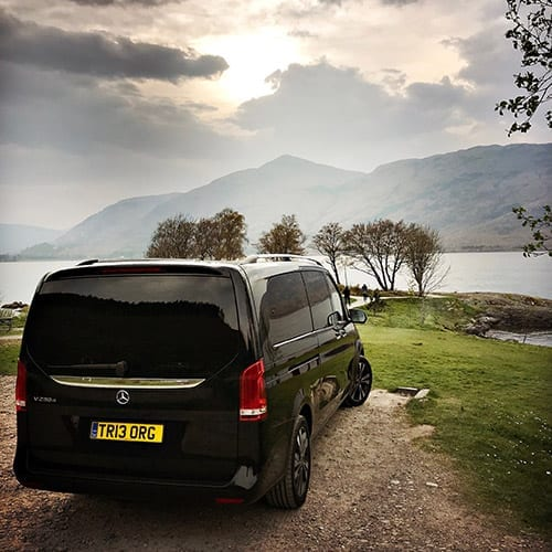 Mercedes Van_Loch Lubnaig_Holiday Tours