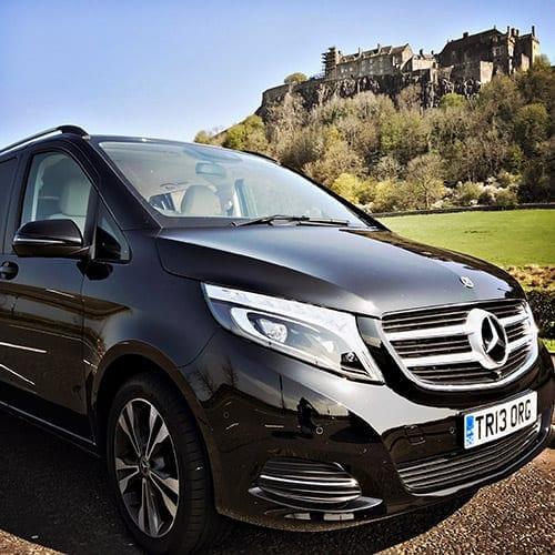 MercedesVan_Stirling_holiday Tours